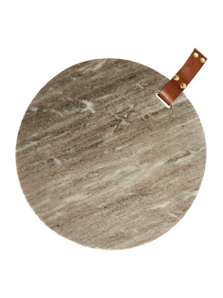 Gray & Willow Beige marble cheese board