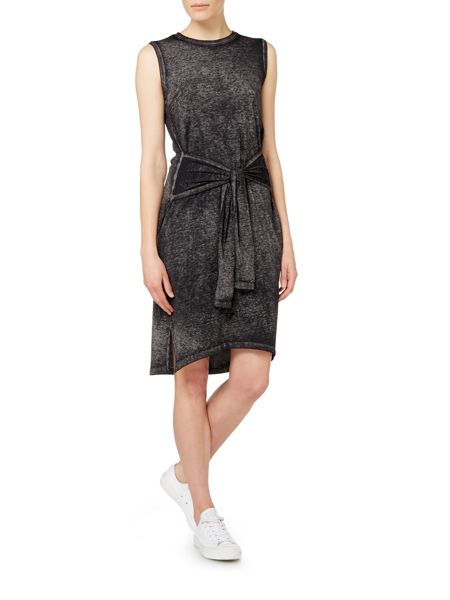 Label Lab Tie jersey dress