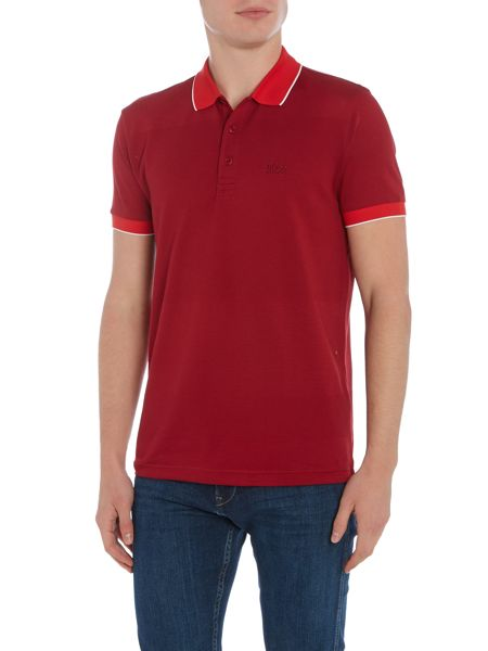 Hugo Boss Paddy 1 regular fit honeycomb detail polo shirt