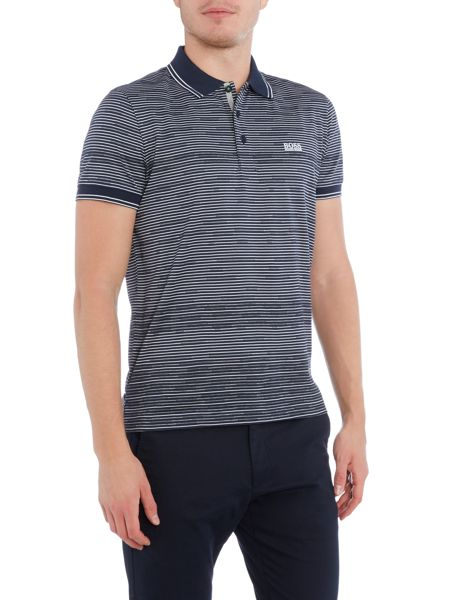 Hugo Boss Paddy 2 regular fit stripe polo shirt