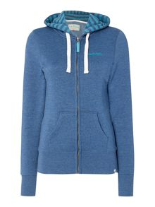 Brakeburn Zip Through Hooded Sweatshirt