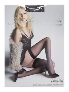 Jonathan Aston Vintage legs backseam & heel hold ups