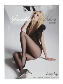 Jonathan Aston Vintage legs backseam & heel tights