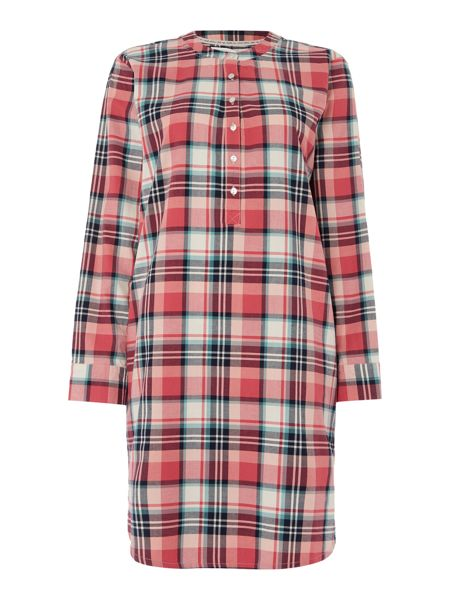 Dickins & Jones Eloise Check Nightshirt