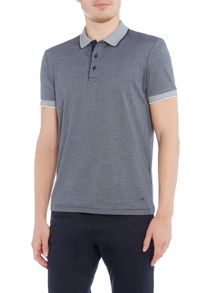 Hugo Boss C-janis regular fit feeder stripe polo shirt