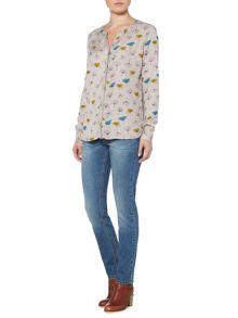 Brakeburn Dandelion Relaxed Fit Blouse