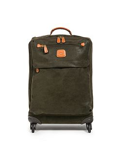 Life olive 4 wheel 65cm soft medium suitcase