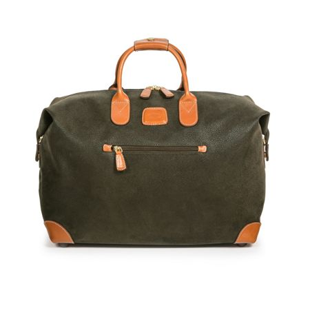 Brics Life olive small soft holdall