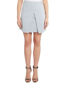 Girls on Film Short Buckle Crossover Skirt