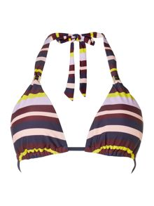 Ted Baker Modira Stripe triangle bikini top