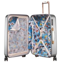 Ted Baker Porcelain rose 8 wheel hard medium suitcase