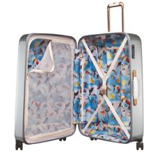 Ted Baker Porcelain rose 8 wheel hard large suitcase
