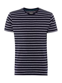 Linea Brody Brick Design Stripe T-Shirt