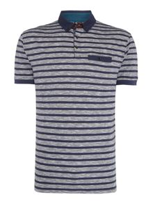 Linea David Stripe Polo