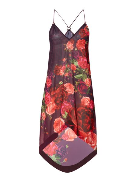 Ted Baker Reneye rose print cover up