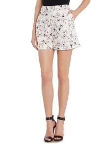Girls on Film Chloe Lewis Pocket Detail Print Shorts