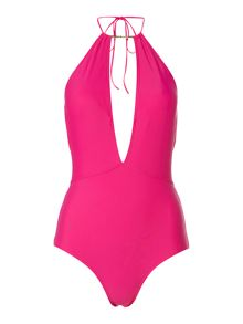 Ted Baker Pike deep v swimsuit