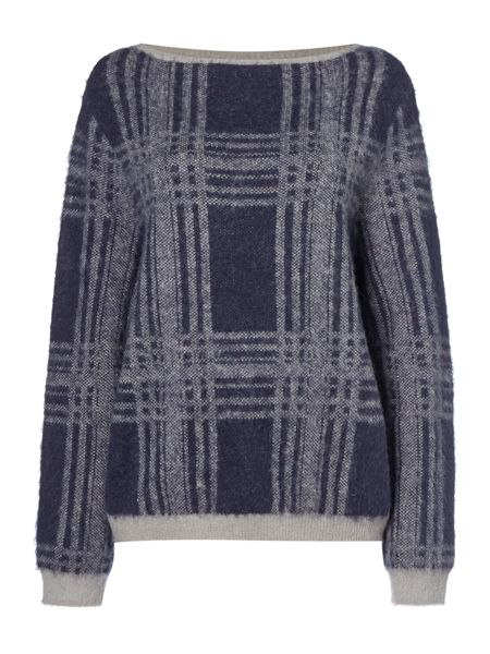Maison De Nimes Brushed Check Jumper