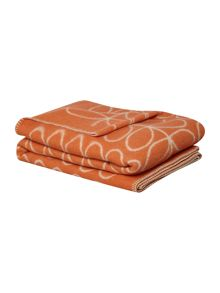 Orla Kiely Linear Stem Poppy Throw