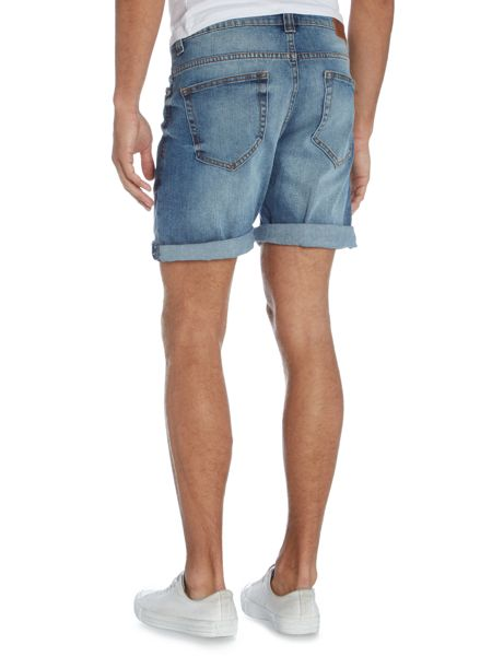 Only & Sons Washed Denim Shorts