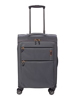 Spacelite II grey 8 wheel soft cabin suitcase