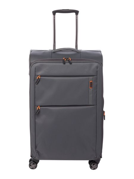 Linea Spacelite II grey 8 wheel soft medium suitcase