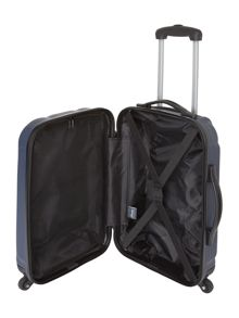 Linea Odel navy 4 wheel hard cabin suitcase