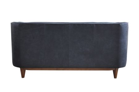Living by Christiane Lemieux George charcoal 2 seater sofa