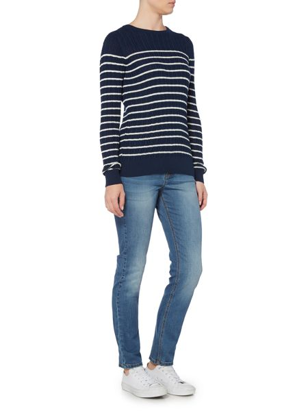 Brakeburn Stripe Cable Jumper