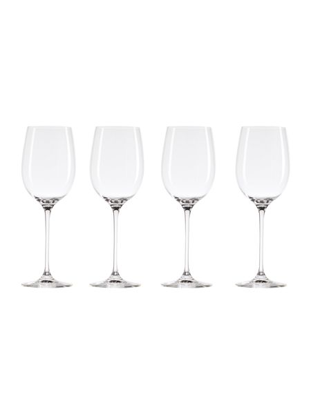 Linea Madison red wine crystal glasses set of 4