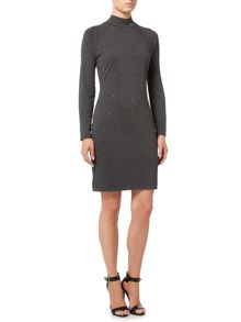 Biba Studded turtle neck dress