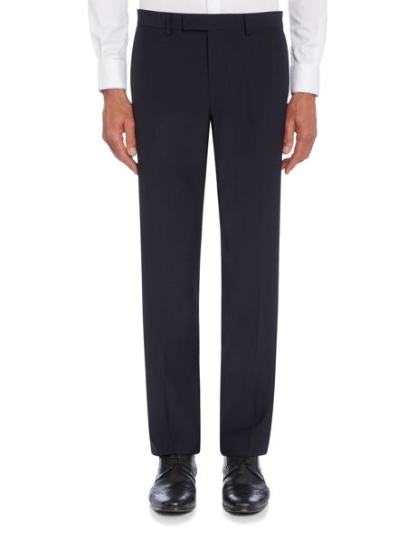 Kenneth Cole Devan slim fit tonal check suit trouser