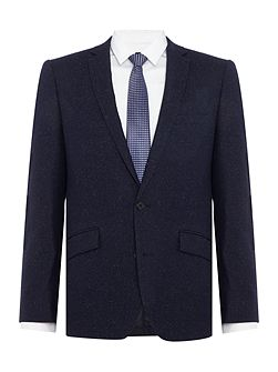 Bronx SB2 slim fit donegal suit jacket