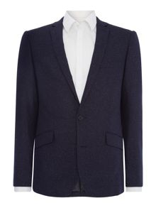 Kenneth Cole Bronx SB2 slim fit donegal suit jacket