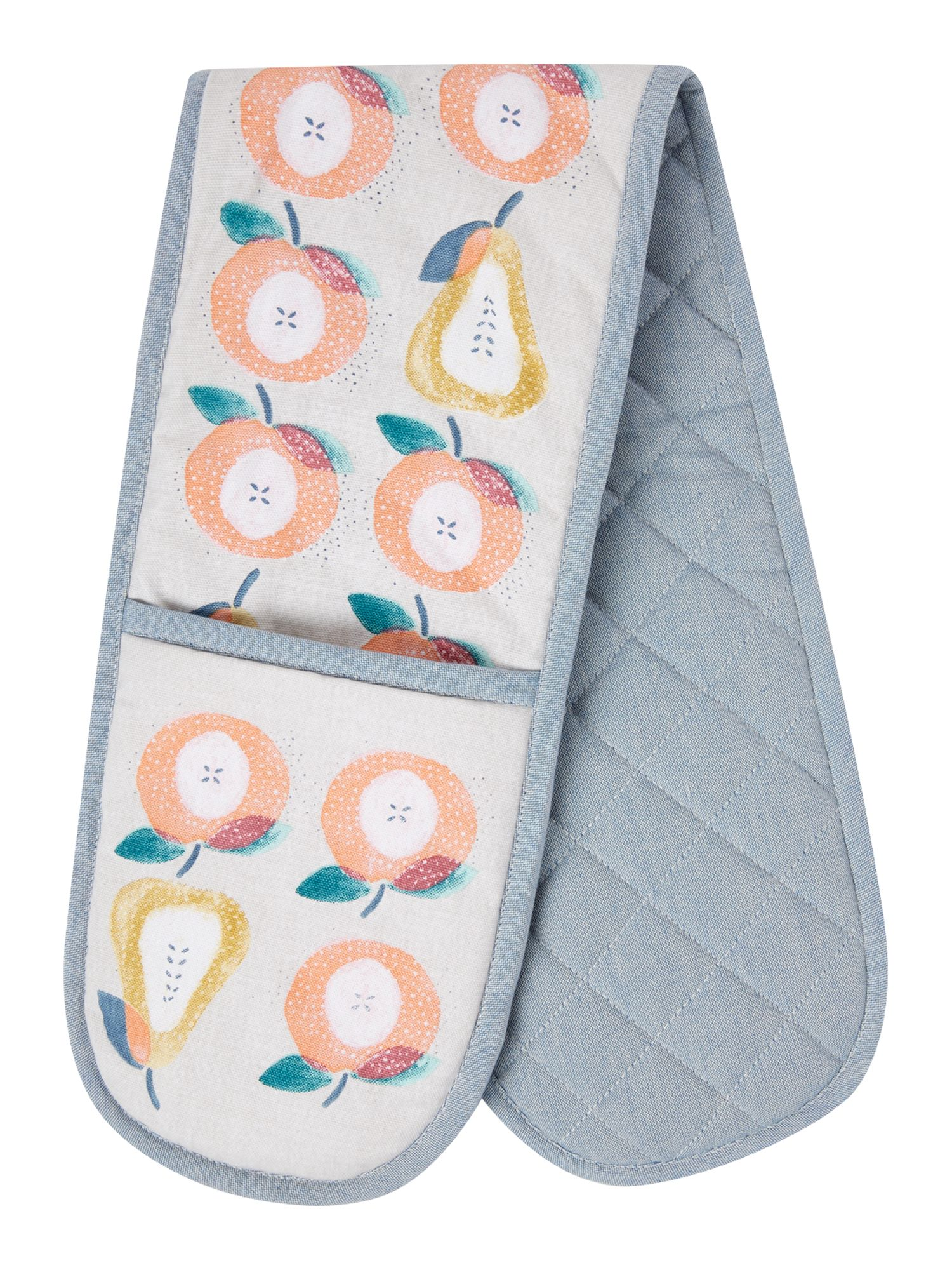 Image of Dickins & Jones Apples and pears double oven glove