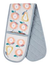 Dickins & Jones Apples and pears double oven glove