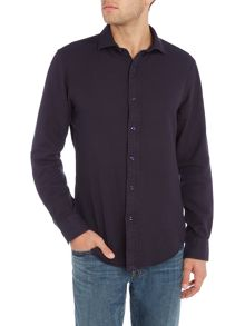 Polo Ralph Lauren Long sleeve slim fit solid pique shirt