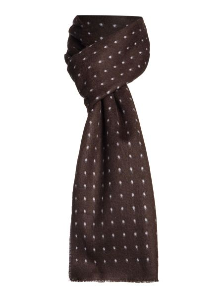 New & Lingwood Polka Dot Formal Scarf
