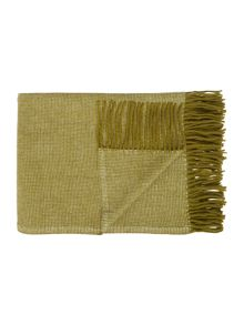 Linea Folk throw, green