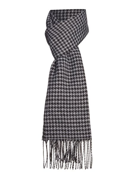 Linea Houndstooth High Bulk Scarf