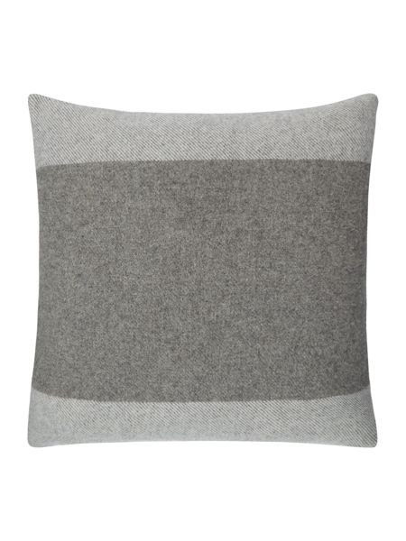 Gray & Willow Wool stripe cushion