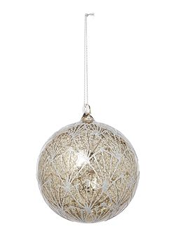 Glitter Deco Mercury Bauble