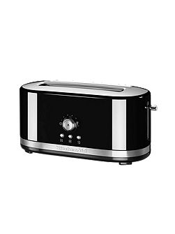 Manual Control Long Slot Toaster Onyx Black