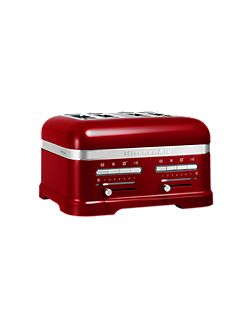 Artisan 4 Slot Toaster Candy Apple