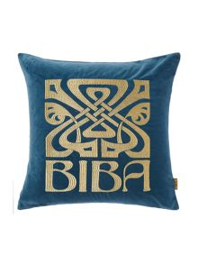 Biba Signature Biba cushion, teal