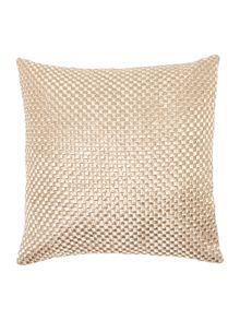 Casa Couture Rosa basketweave cushion