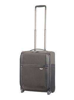 Uplite grey 2 wheel 50cm cabin suitcase