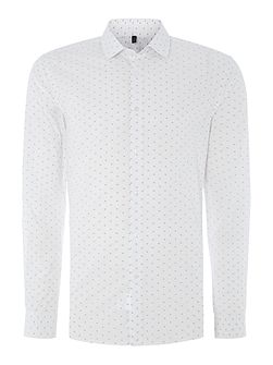 Printed Woven Long Sleeve Shirt