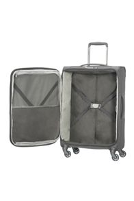 Samsonite Uplite grey 4 wheel 78cm large suitcase