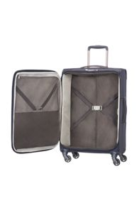 Samsonite Uplite navy 4 wheel 67cm medium suitcase